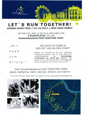 LET´S RUN TOGETHER_TEAM DEUTSCHAKADEMIE