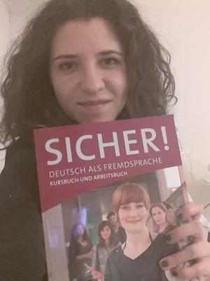 ein von meinen besten Freunden in Wien: meines Deutsch Kurs Buch:)