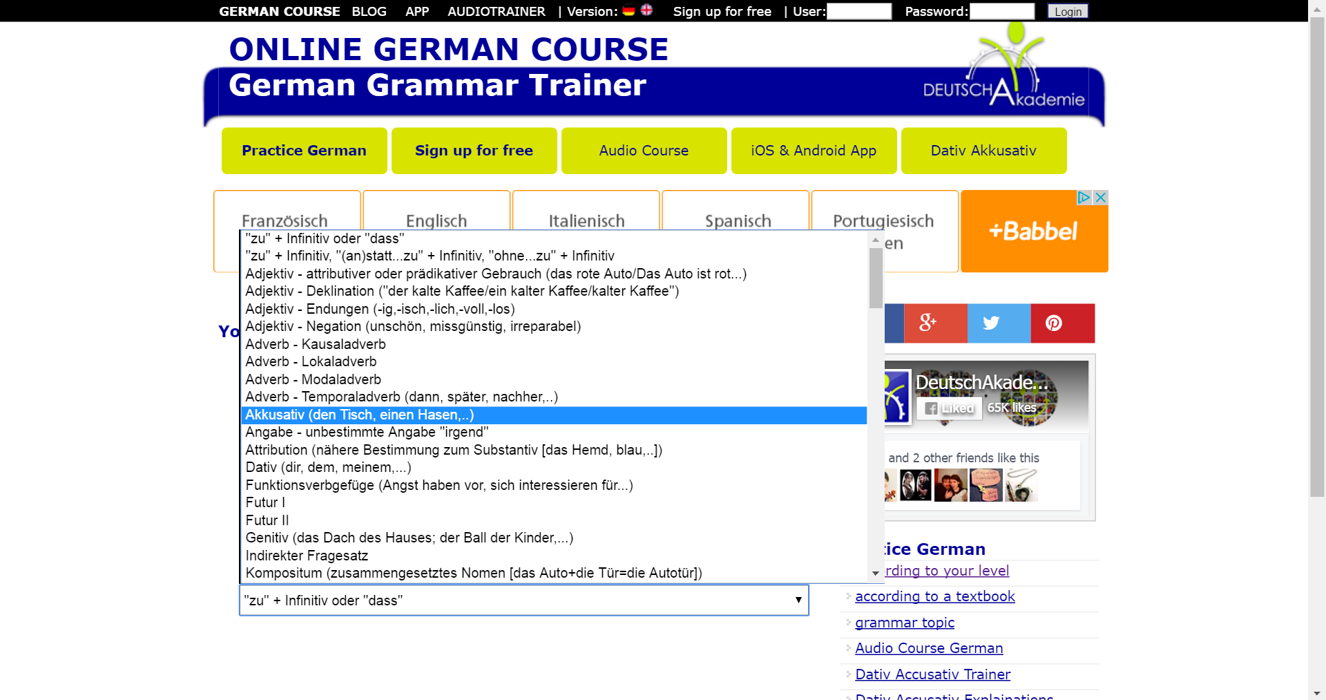 Online German Course