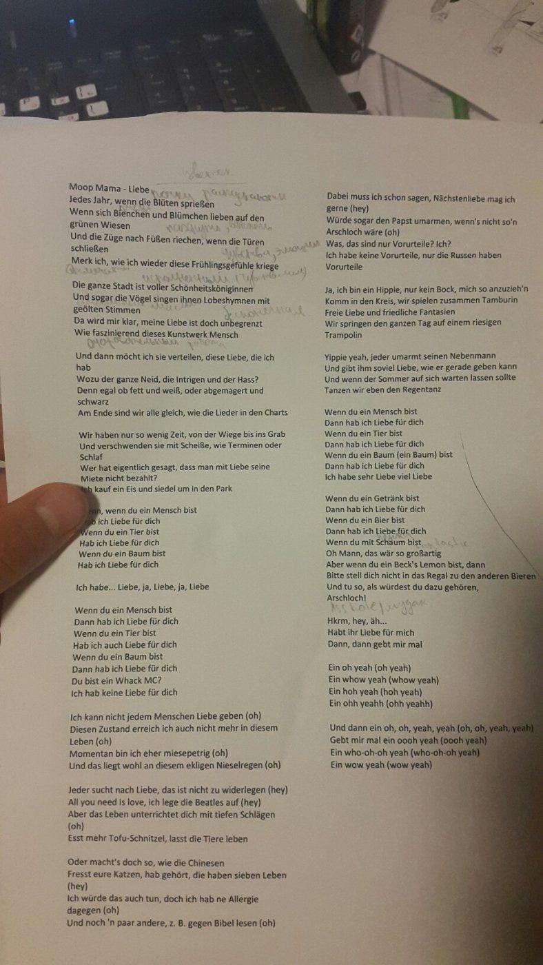 hey arschloch lyrics