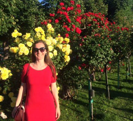 Roses at Volksgarten