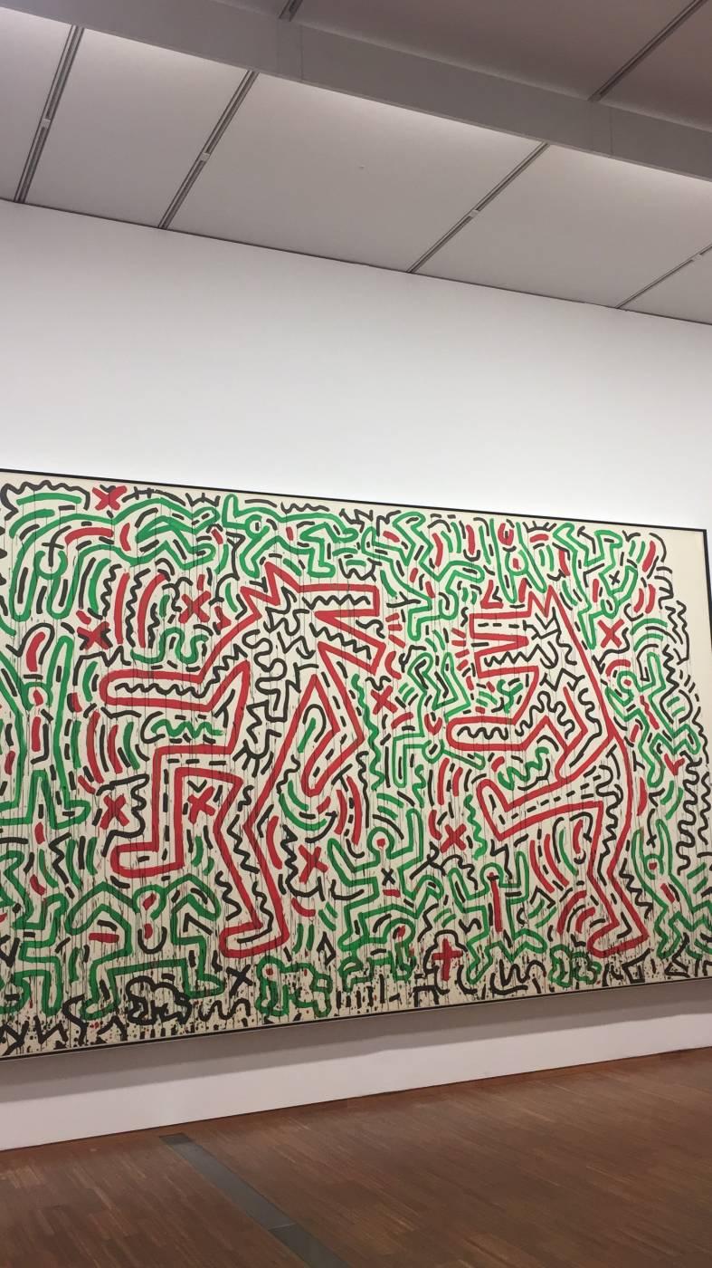 Visit Albertina-Keith Haring exhibition